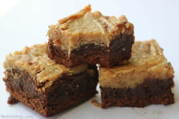 3 Peanut Butter Cheesecake Brownies