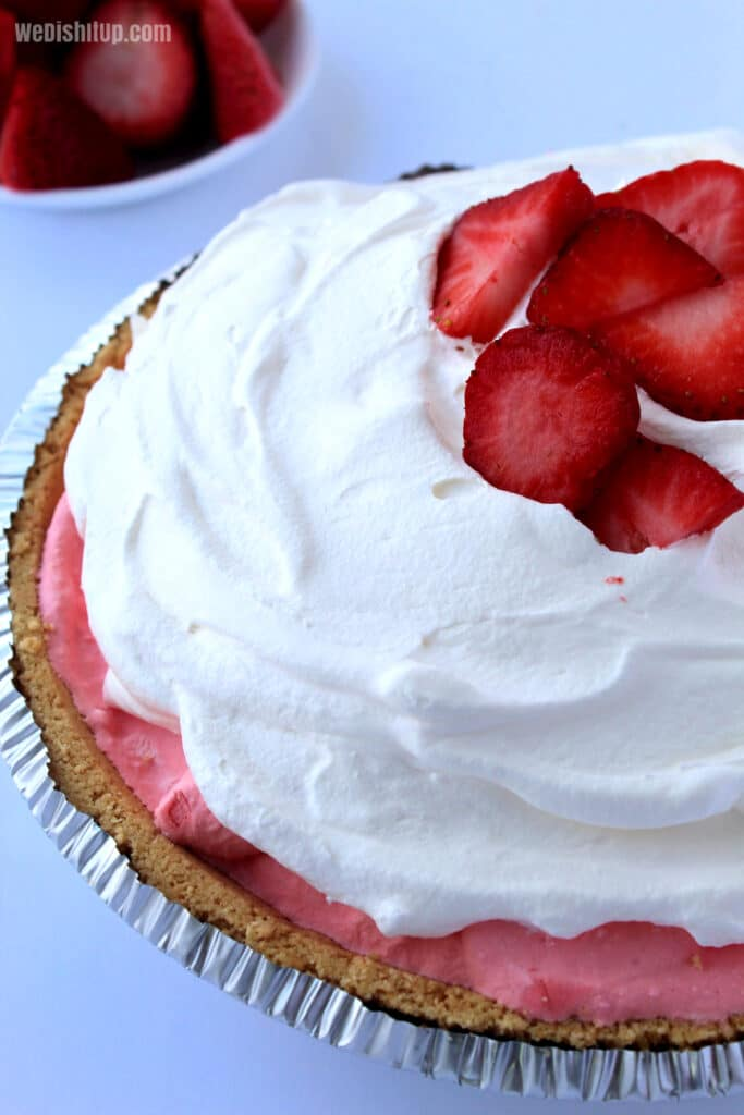 Whole Strawberry Pie