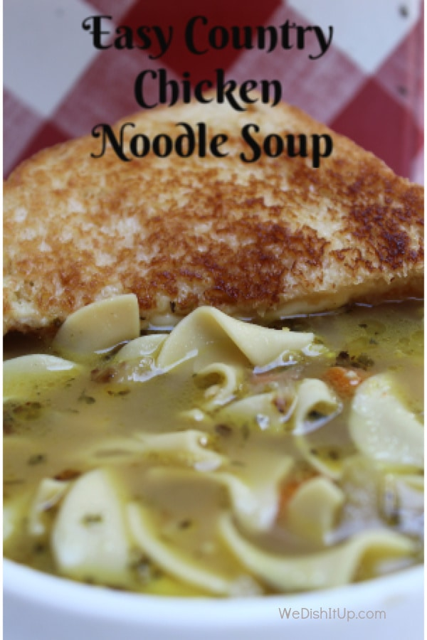 Easy Country Chicken Noodle
