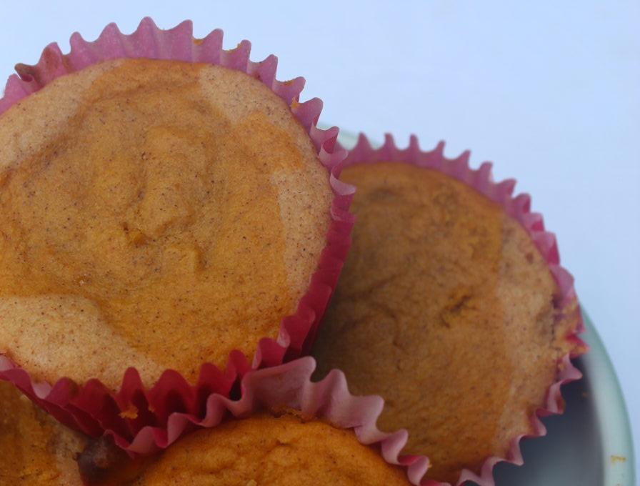 muffins in dish