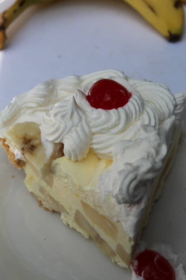 Banana Cream Slice