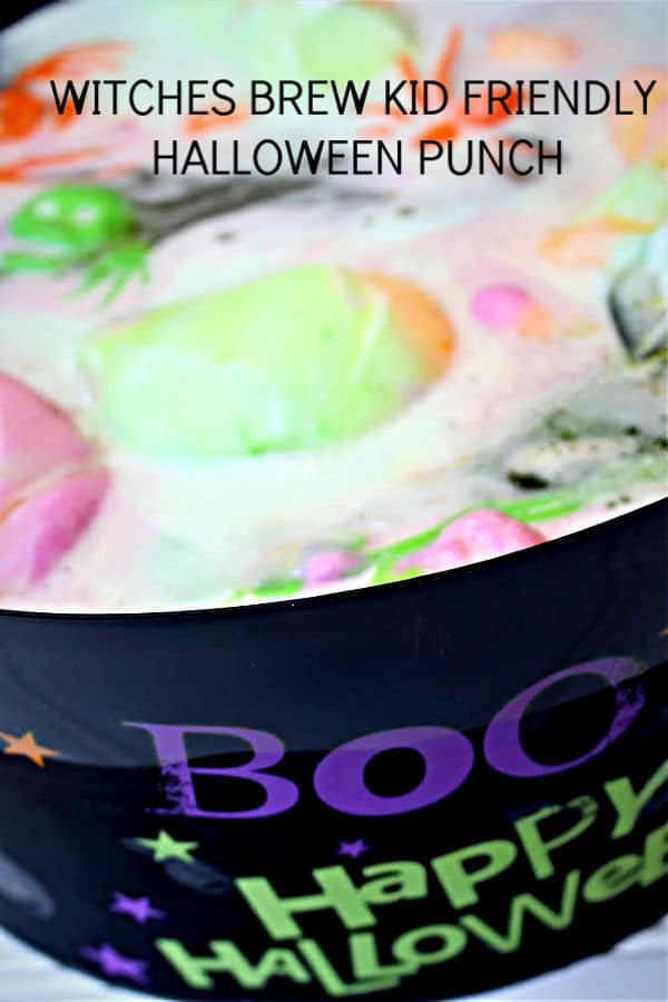 Witches Brew Kid Friendly Halloween Punch We Dish It Up
