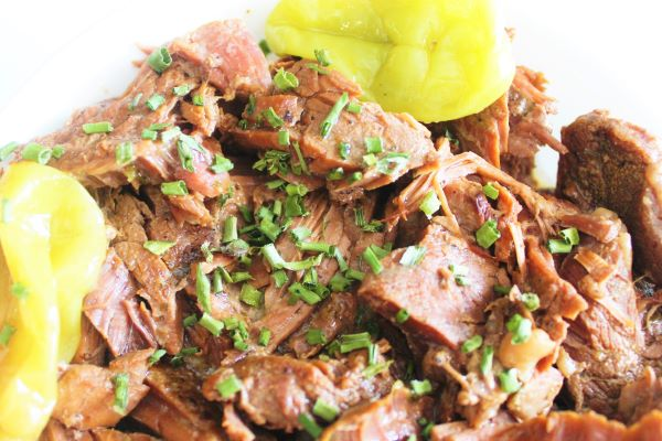 horizontal pot roast