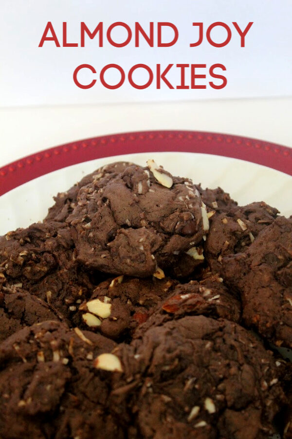 Almond Joy Cake Mix Cookies