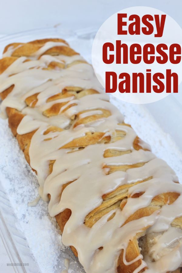 Super Easy Cheese Danish