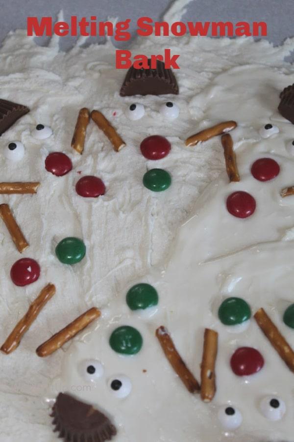 Bark on Cookie Sheet