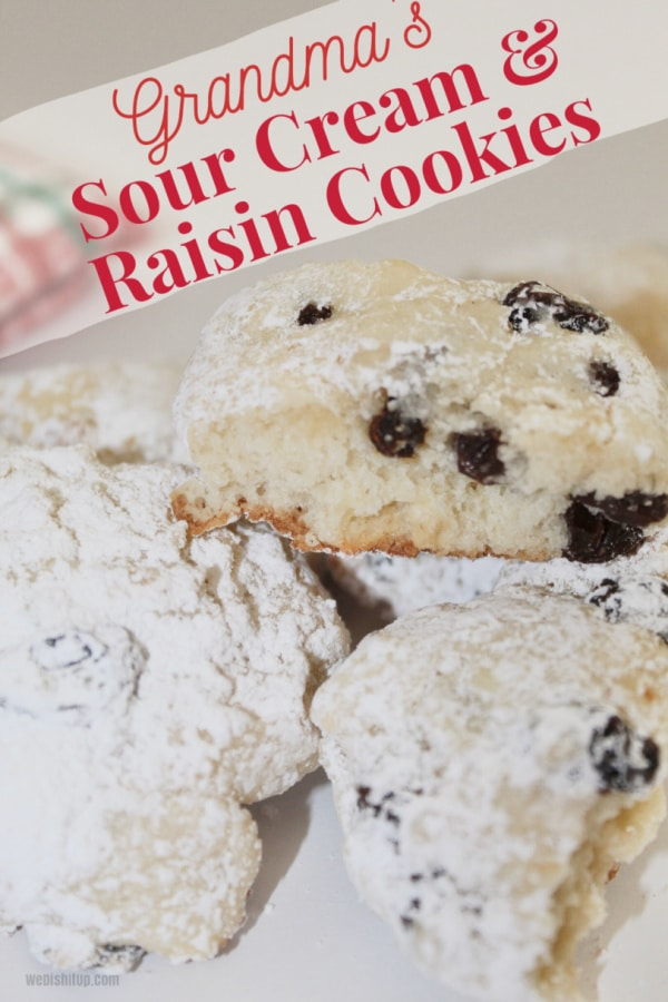 Grandmas Sour Cream Cookies