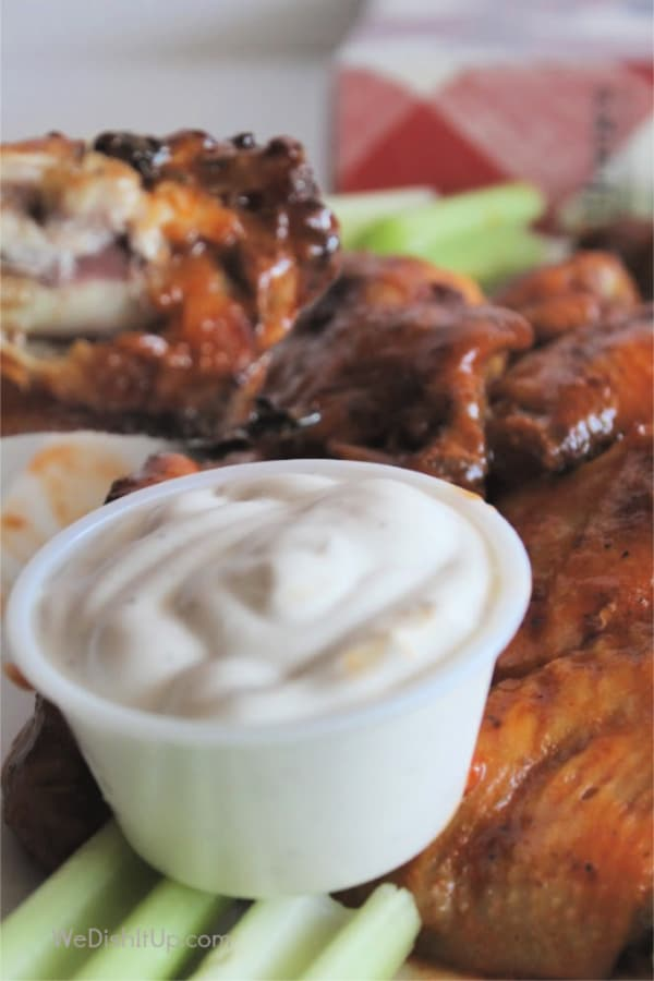 Wings with Ranch