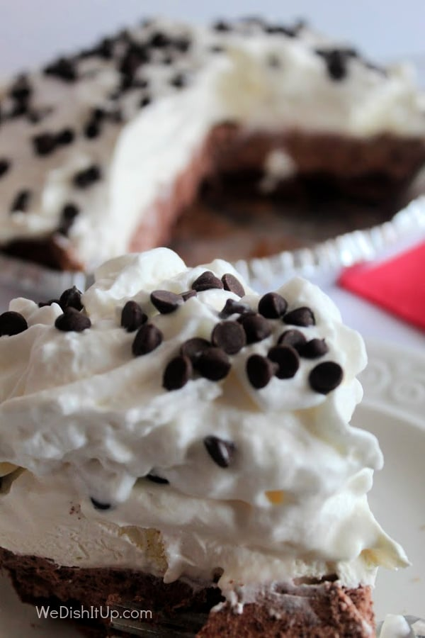 No Bake Chocolate Cream Pie