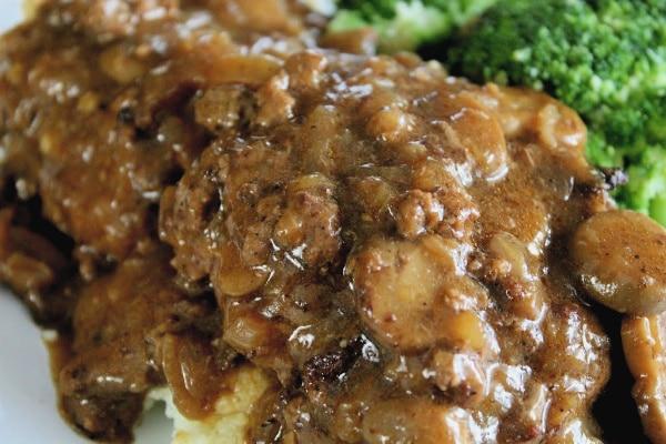 Salisbury Steak -Horiz