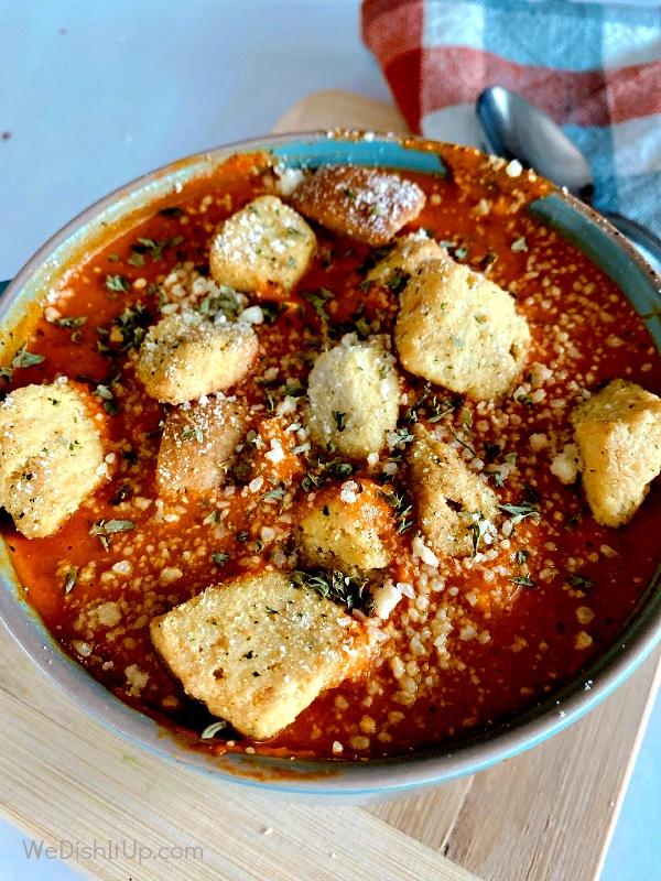 Tomato Soup - Top View