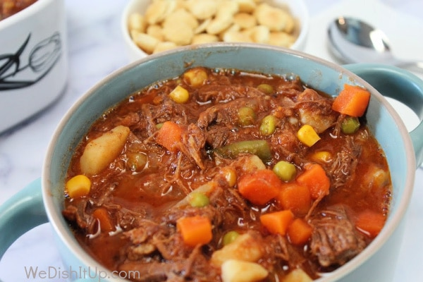 Vegetable Beef Soup 4