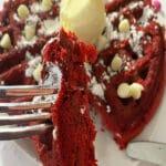 RedRed Velvet Valentines Waffles