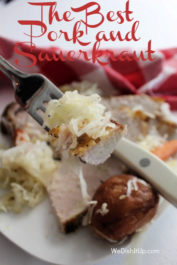 The Best Pork and Sauerkraut