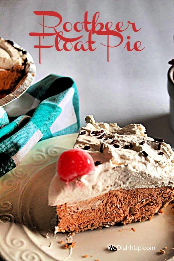 Rootbeer Float Pie