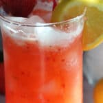 Fresh Made Strawberry Lemonade