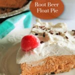 Root Beer Float Pie