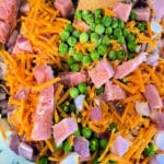 Pea Salad With Ham