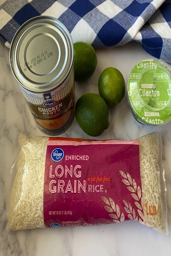 Rice Ingredients