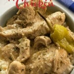 Mississippi Crockpot Chicken