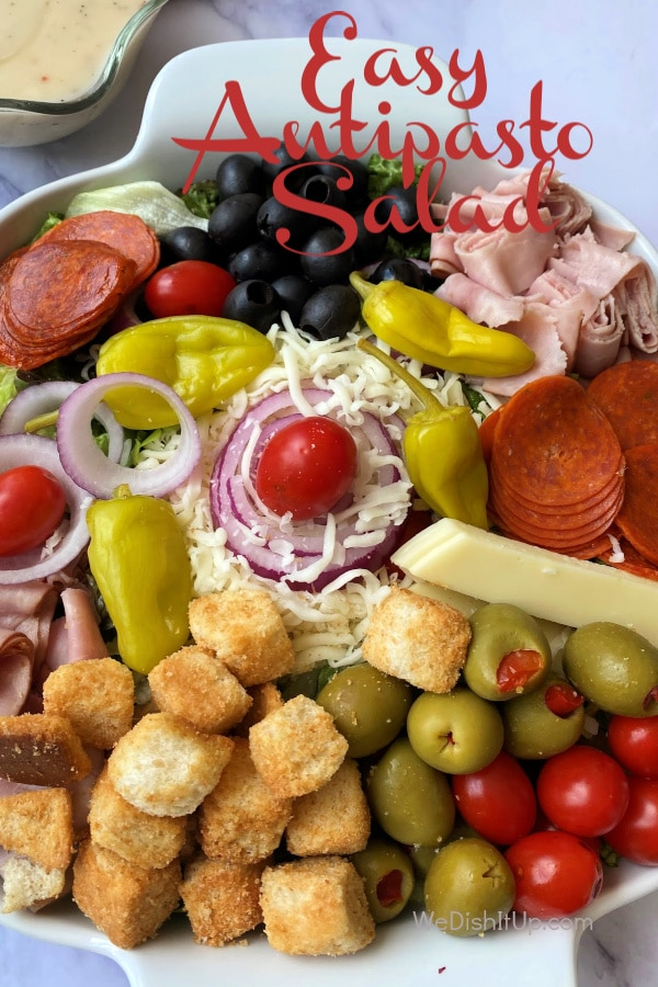 Easy Antipasto Salad