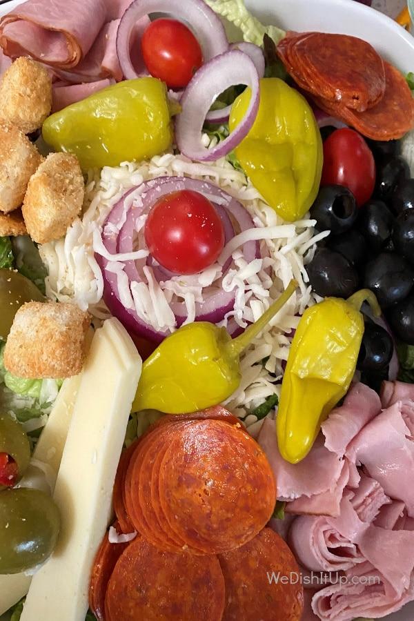 Easy Anitpasto Salad