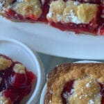 Sugar Cookie Cherry Pie Bars