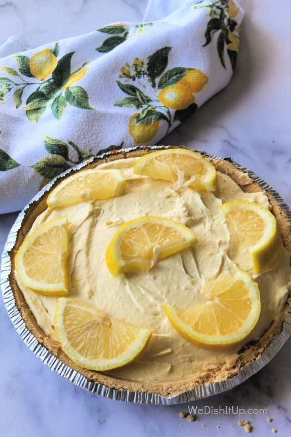 Lemonade Cream Cheese Pie
