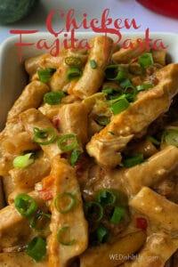 One Pan Fajita Chicken Pasta