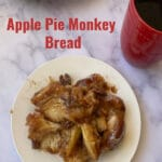Monkey Bread with Fork