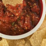Easy Spicy Hot Salsa