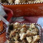 Stuffing Bowl and Fork