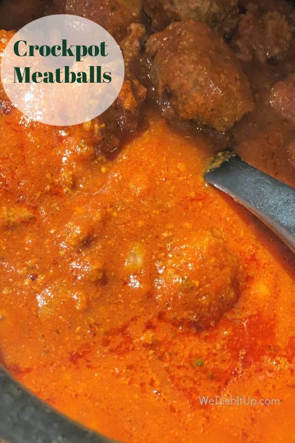 Slow-Cooker Italian Meatballs
