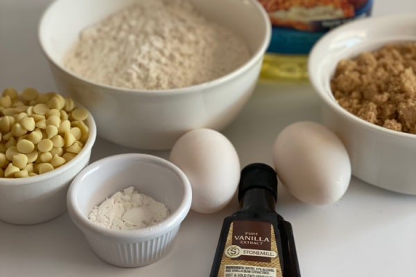 Ingredients for Blondies