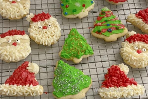 Sour Cream Sugar Christmas Cookie