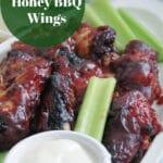 Air Fryer Honey BBQ Wings