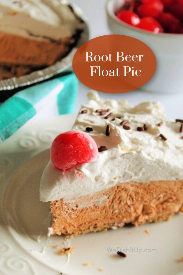 The Best Root Beer Float Pie
