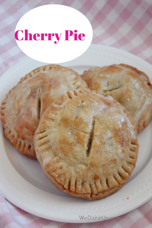 Easy Hand Held Cherry Pie