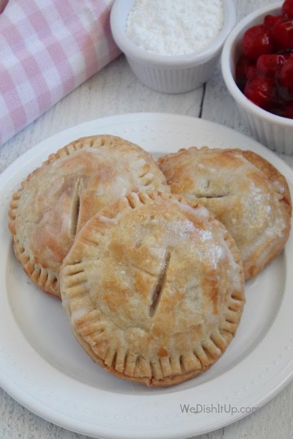 Hand held Cherry Pie