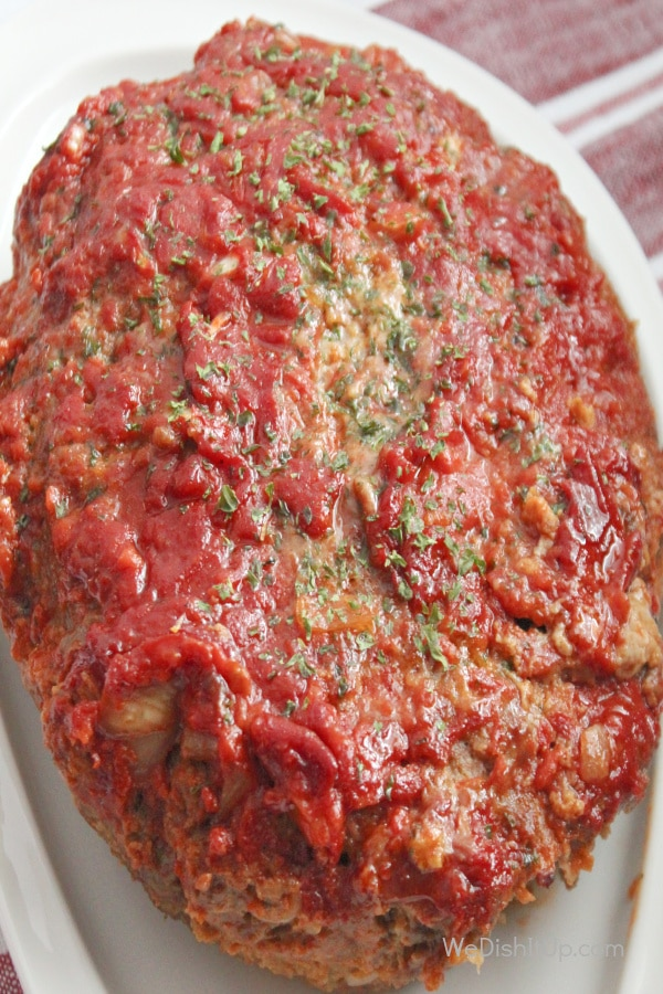 The Best Crockpot Meatloaf