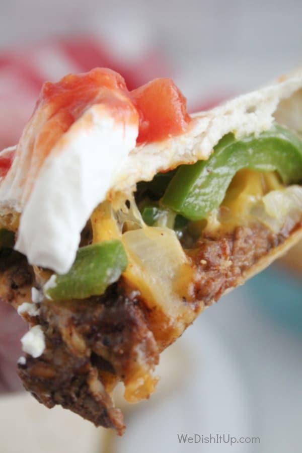 The Best Steak Fajita Quesadilla