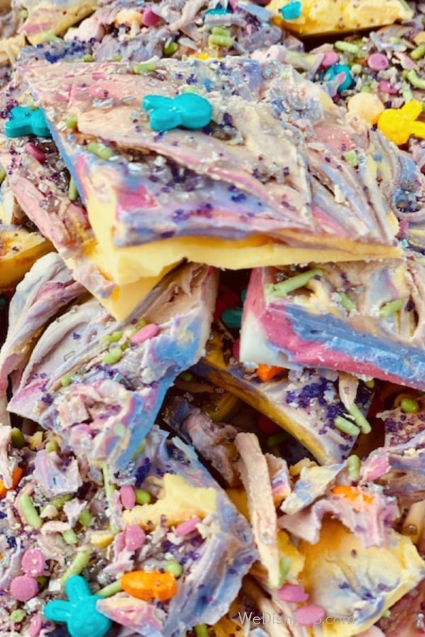 White Chocolate Unicorn Bark