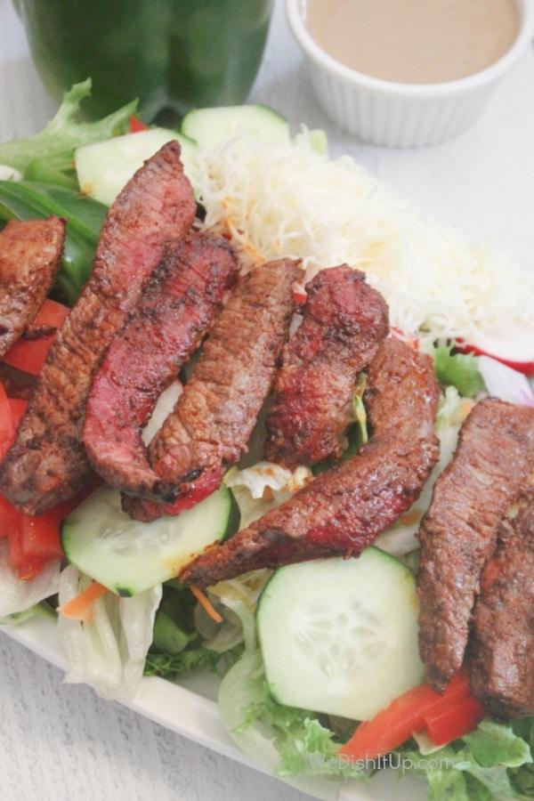 Easy to Make Steak Salad