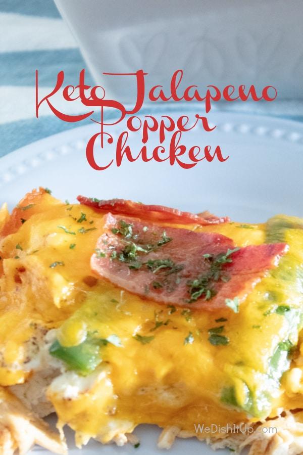 Jalapeno Popper Chicken