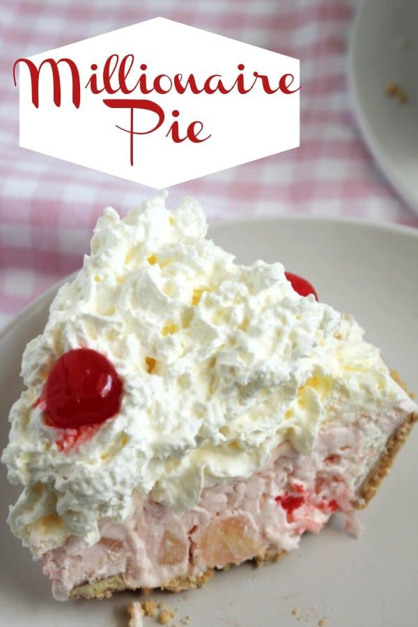 The Best No-Bake Millionaire Pie