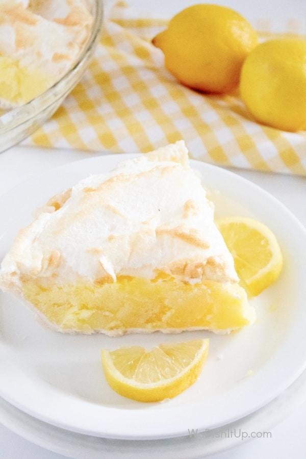 Slice of Lemon Meringue