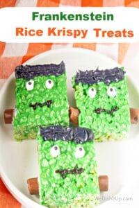 Frankenstein Rice Krispies