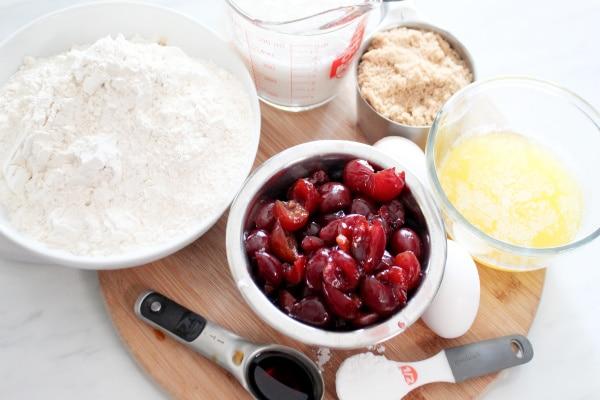Homemade Fresh Cherry Muffin