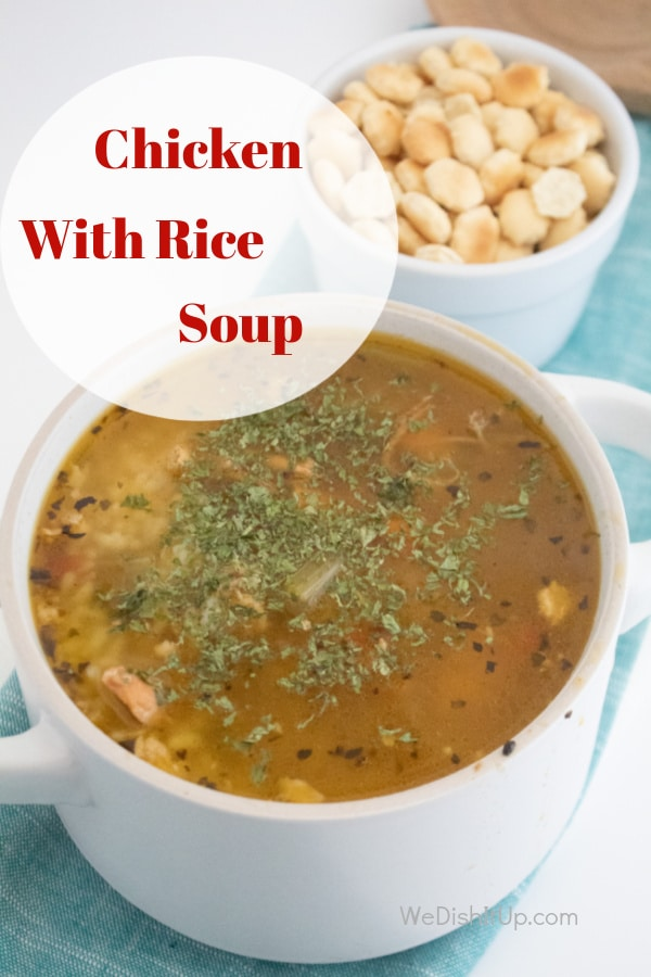 Chicken With Rice Soup